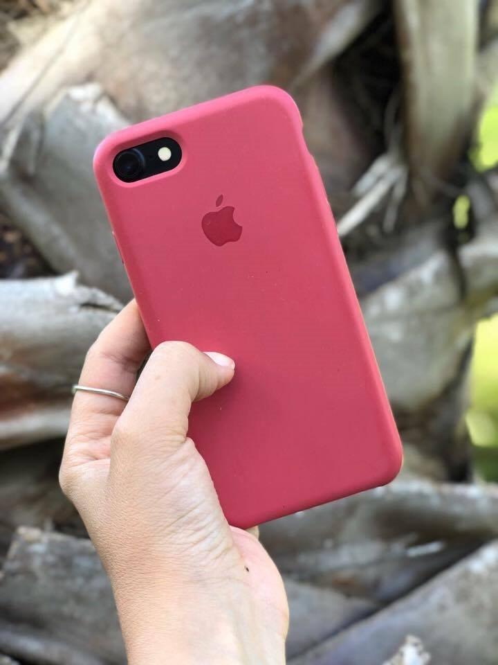 Funda Silicona Original Apple iPhone 6 6 Plus 7 7 Plus 8 8 P