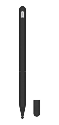 funda silicona para apple pencil 2 generación negro 3x1