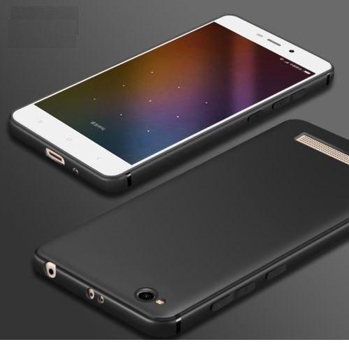 funda silicona para celular xiaomi redmi 4a negro