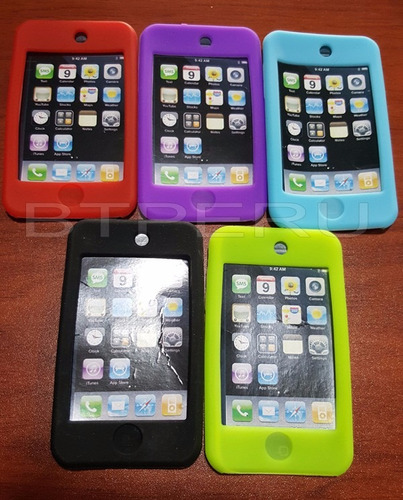 funda silicona silicon para ipod touch 2 3 2g 3g goma