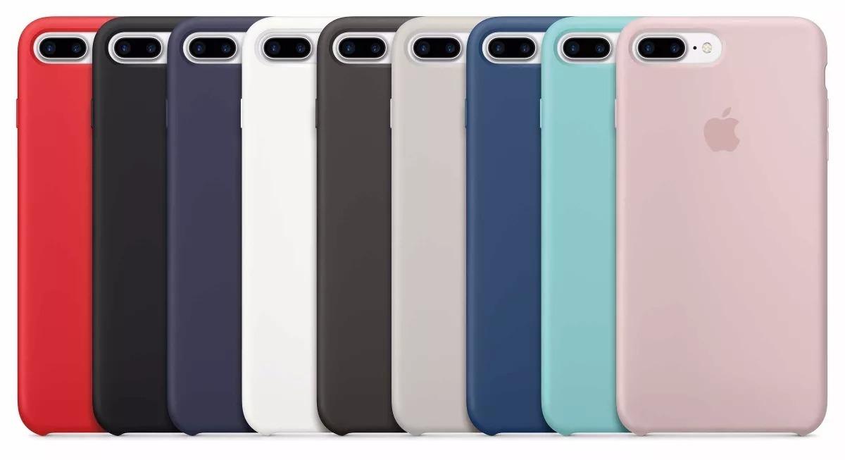 ef32ffd55e1 Funda Silicona Silicone Case Para iPhone 7 8 Plus - $ 499,99 en ...
