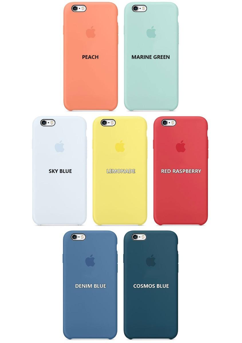 1e2a1030a69 funda silicona soft iphone 6 6s plus apple original mint. Cargando zoom.