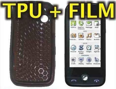 funda silicona tpu + film protector lg gs290 - nnv