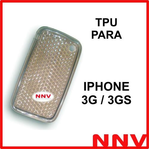 funda silicona tpu para iphone 3g 3gs - nnv