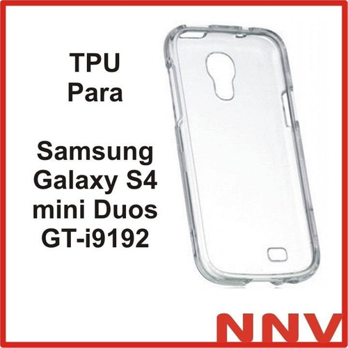 funda silicona tpu para samsung galaxy s4 mini duos gt i9192
