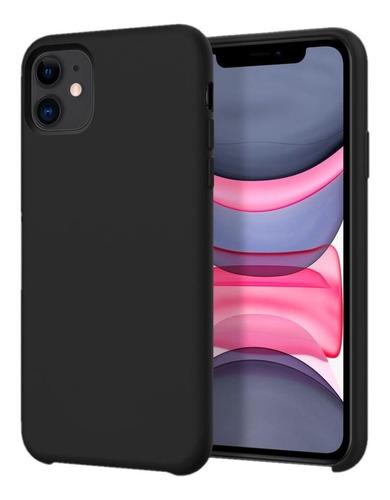 funda silicone case iphone 11 11 pro 11 pro max + vidrio