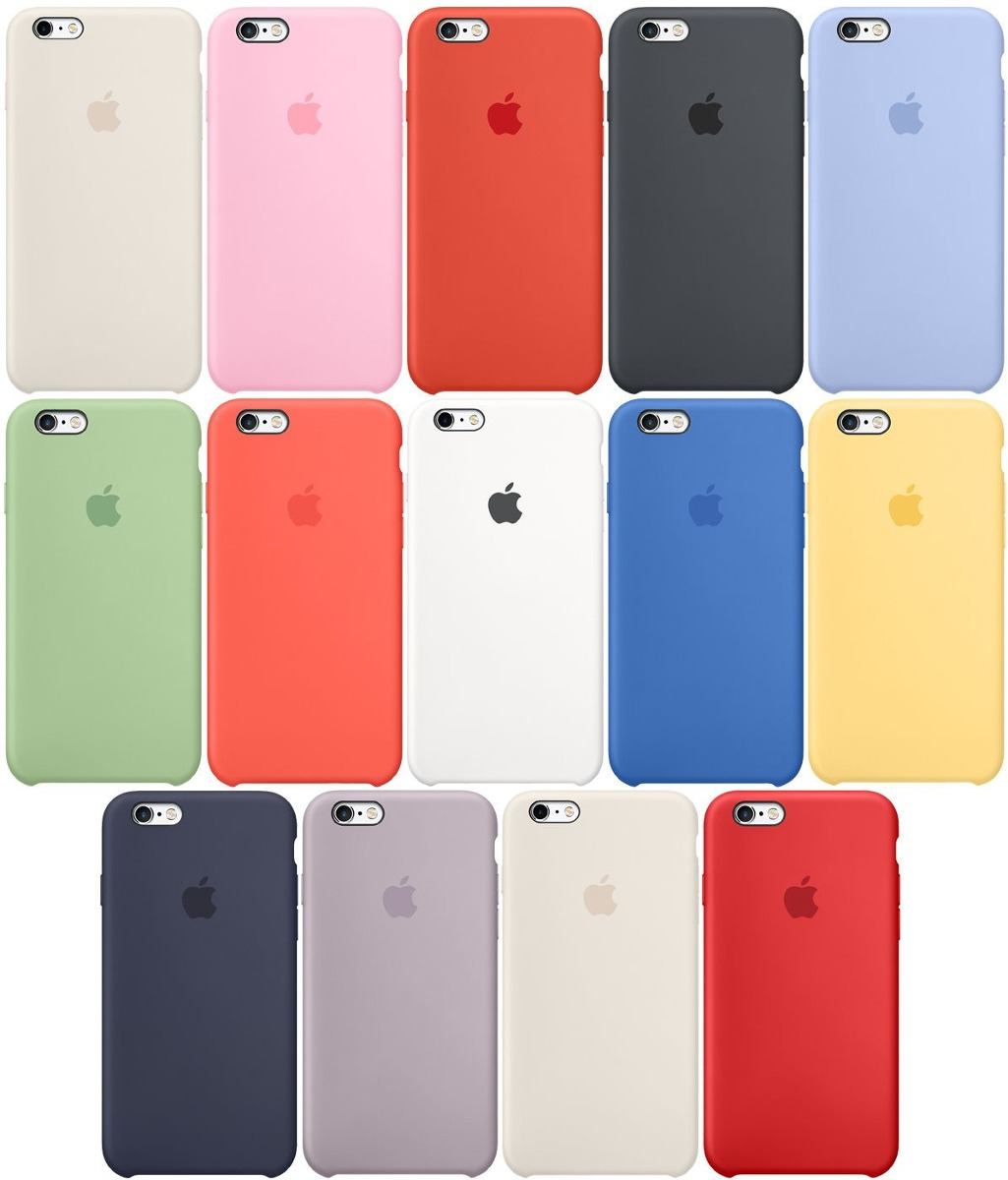 df79905bc49 funda silicone case iphone 6s plus apple original lomas de z. Cargando zoom.