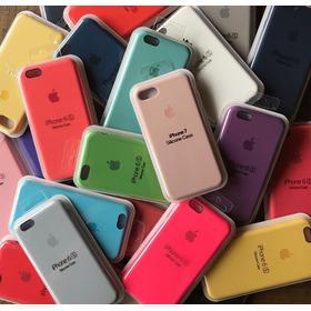 Funda Silicone Case Para iPhone 6 6s 7 8 Plus X Xs