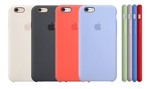 funda silicone case para iphone 6 6s nuevos sellado original