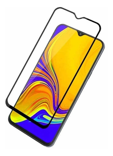 funda silicone case samsung a10 a20 a30 a50 a70 m10 m20 m30 + glass curvo
