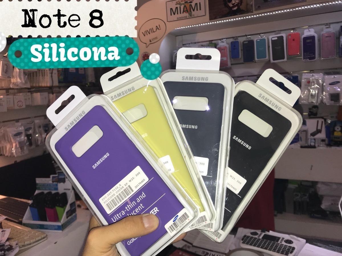 carcasa para samsung note 8 silicona