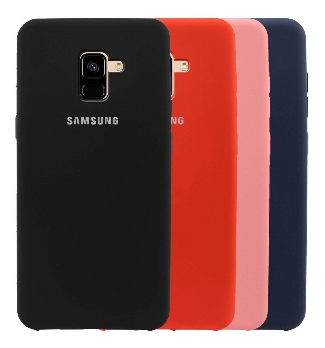 release date: 66593 7c2f3 Funda Silicone Case Samsung J6 2018 Forro Antichoque Gamuza