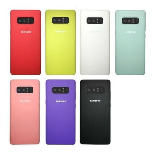 funda silicone case samsung s8 s9 s10 plus s10e note 8 9