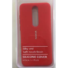 Funda Silicone Cover Case Nokia 5.1 Plus Y A7.1