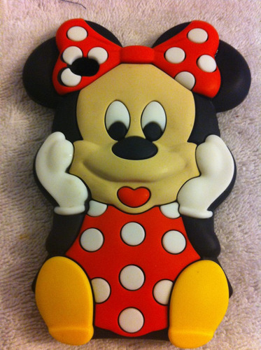 funda silicone ipod touch 4 minnie mouse