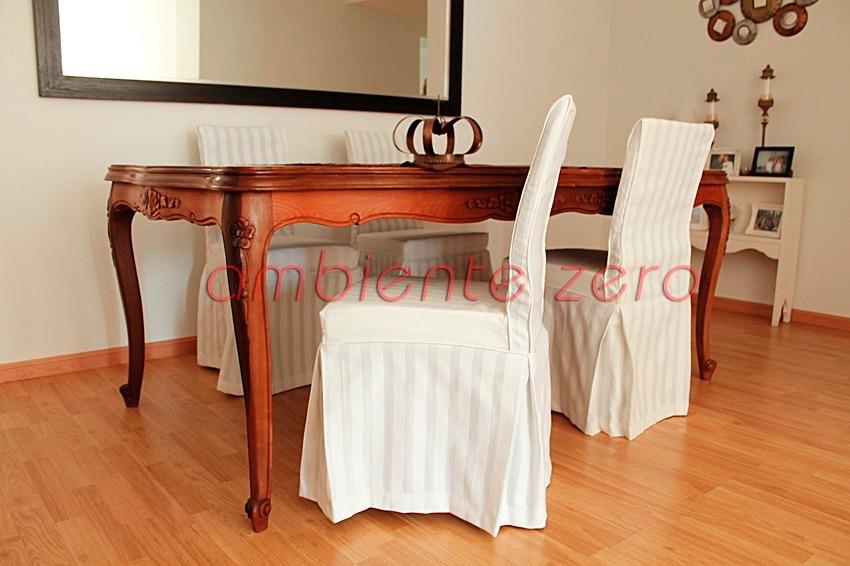 funda sillas a medida cu tela incluida cap federal pilar