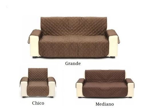 funda sillon protectora reversible cover couch med sofa
