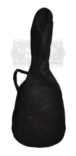 funda simple de frizelina guitarra criolla agarre negra