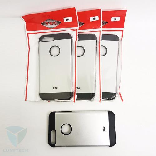 funda slim armor 2 en 1 / para celular iphone 7 plus