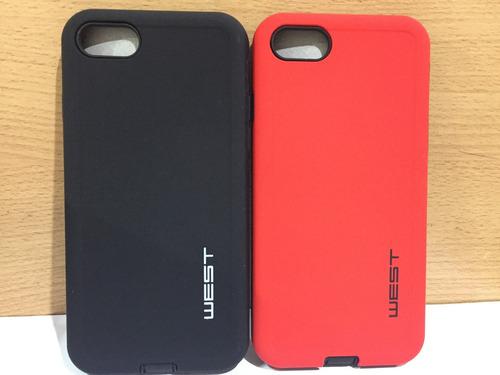 funda slim case armor iphone 7 + templado glass