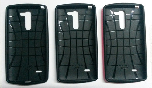 funda slim case armor lg g3 stylus d690 + vidrio blindado