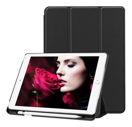 funda smart case ipad 6ta generacion con soporte para pencil