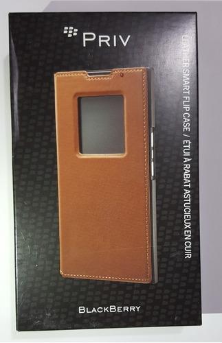funda smart flip original blackberry priv cafe (fedorimx)
