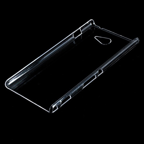 funda sony xperia m2 tpu 0.3mm transparente slim + film
