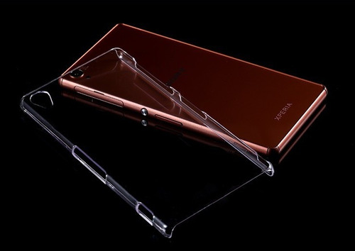 funda sony xperia z2 tpu 0.3mm ultra transparente + film