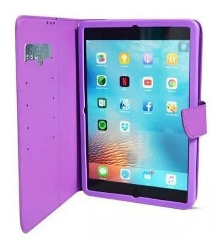 funda soul universal flip tablet 9 a 10 - factura a / b