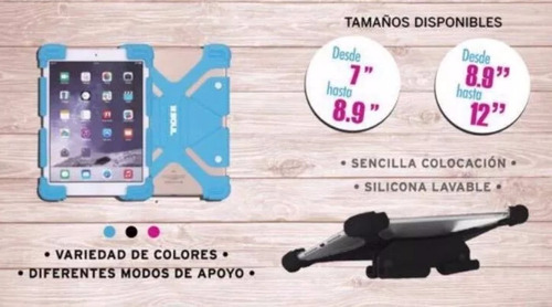 funda soul universal silicona tablet 7 a 8  - factura a b