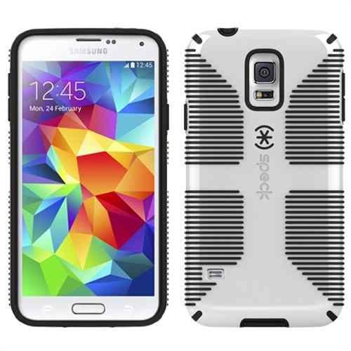 huge selection of 392c1 787c3 Funda Speck Candyshell Grip Samsung Galaxy S5 Blanca Gris