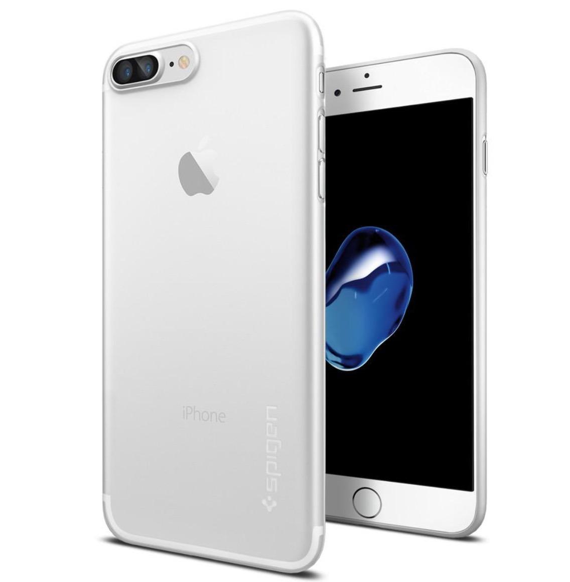 4c4e4900cb8 funda spigen air skin soft ultra fina para iphone 7 8 plus. Cargando zoom.