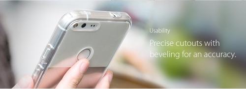 funda spigen google pixel xl ultra hybrid cristal original