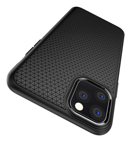 funda spigen iphone 11 pro liquid air negro mate
