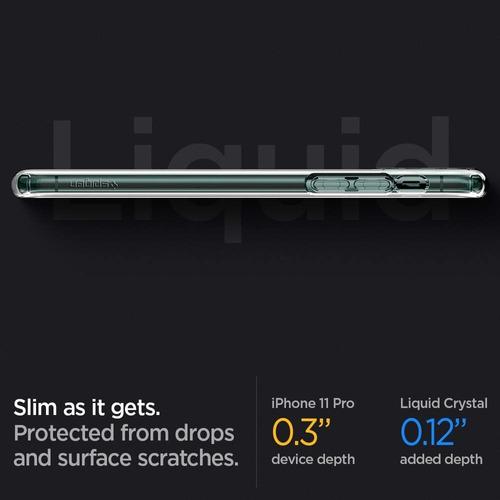 funda spigen iphone 11 pro liquid crystal genuina
