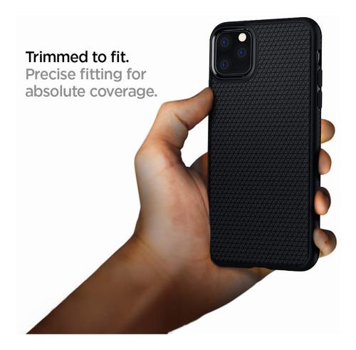 funda spigen iphone 11 pro max liquid air negro mate