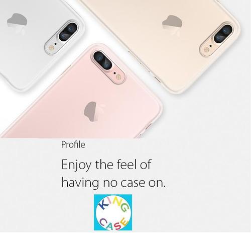 funda spigen® iphone 7 plus air skin® soft clear original