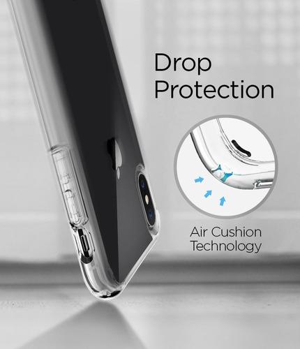 funda spigen iphone xs x 10 ultra hybrid cristal air cushion