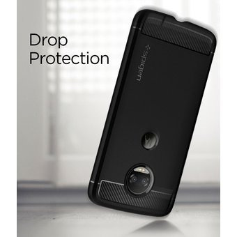 funda spigen moto z2 force edition rugged armor