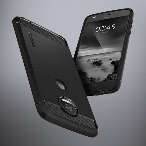 funda spigen moto z2 play rugged armor