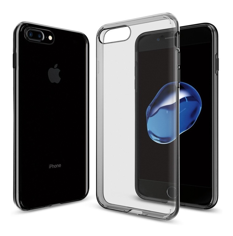 Funda Transparente Liquid Crystal 2 iPhone 8 Plus Spigen