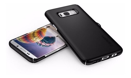funda spigen thin fit samsung galaxy s8 plus - negro