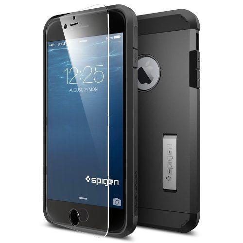 funda spigen tough armor fx iphone 6/6s plus - smooth black