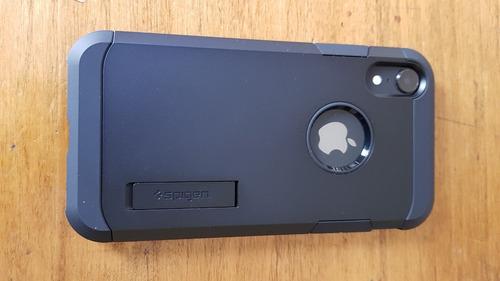 funda spigen tough armor para iphone xr 6.1
