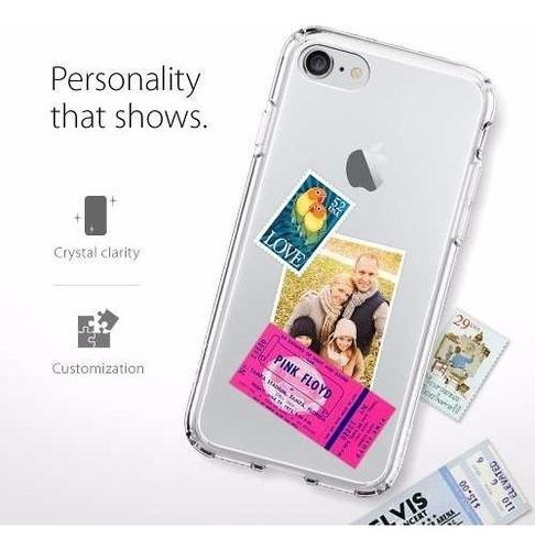 funda spigen ultra hybrid iphone 7 - crystal clear