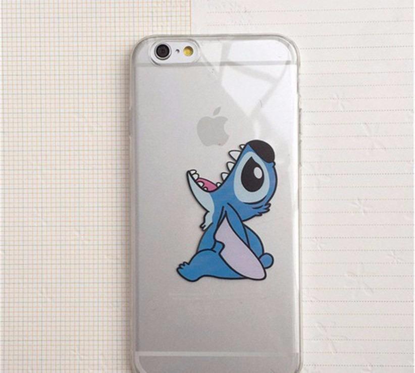Funda iPhone 6 PLUS stich Transparente