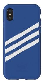 Adidas - Funda / Case Original Stripes Moulded para iPhone X/XS - Azul