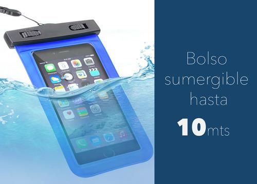 funda sumergible agua universal waterproof para celulares