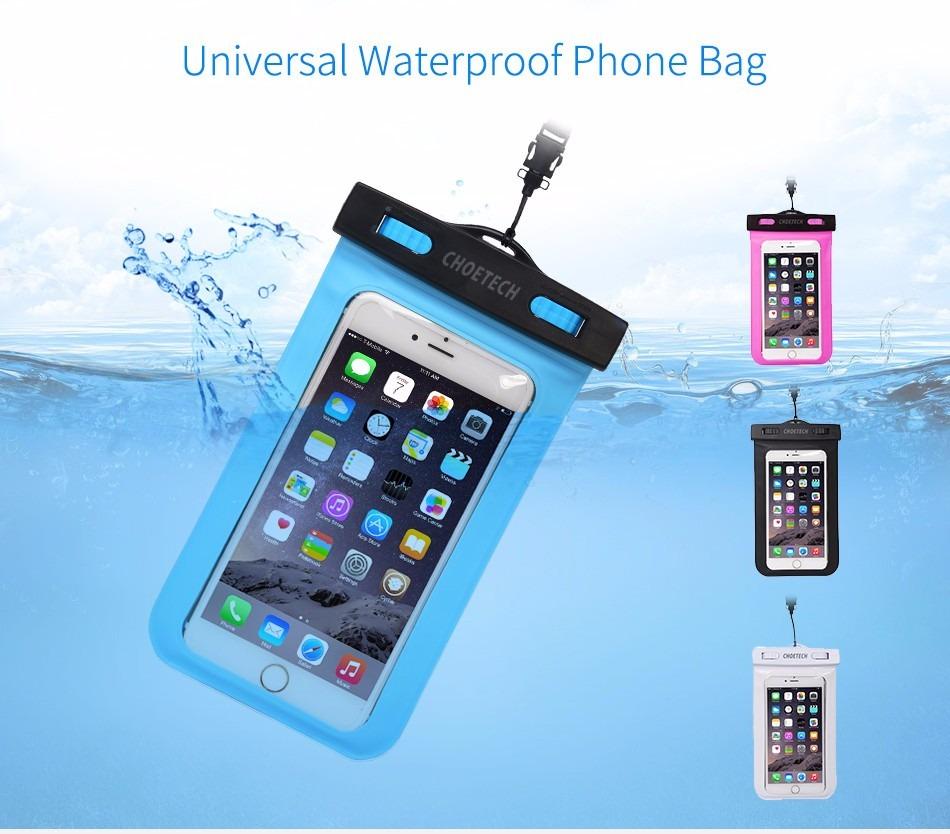 8b967652bde funda sumergible para celulares - soporta agua - waterproof. Cargando zoom.